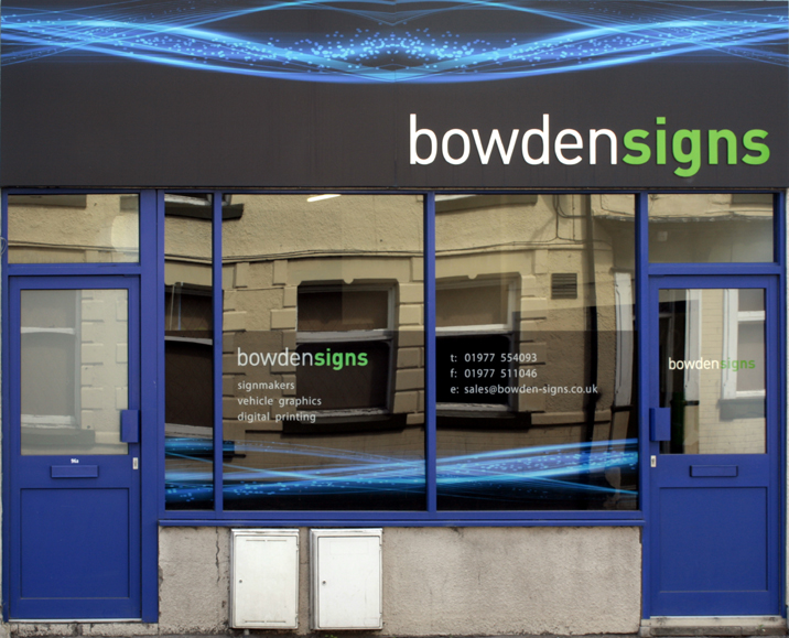 Bowden Signs Shop